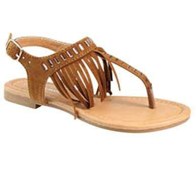 Children's Fringe Sandals