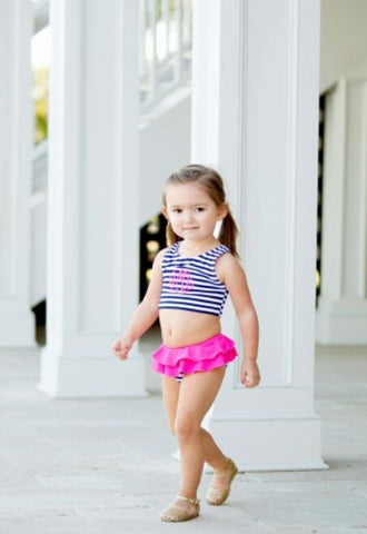 Mini Prep Stripe Swimsuit