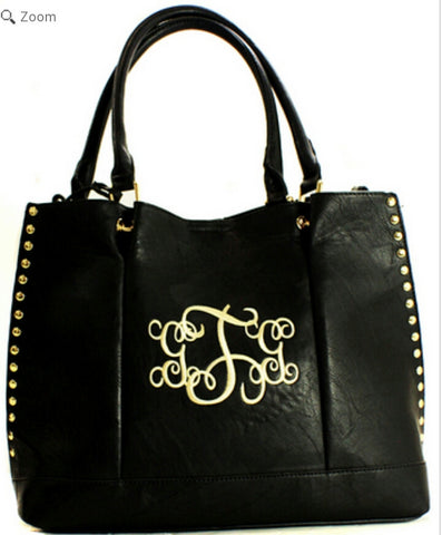 Black Carolina Purse