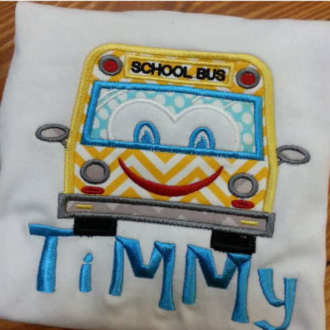 Back To School Bus Tee