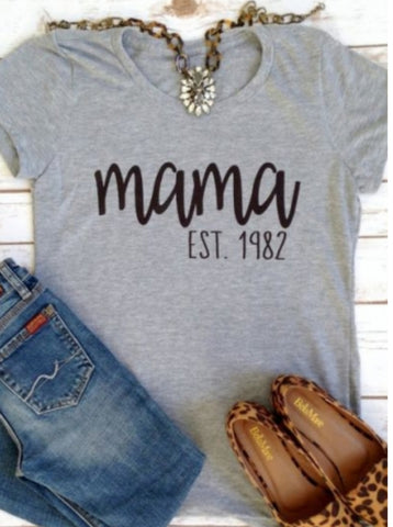 Established Mama Tee