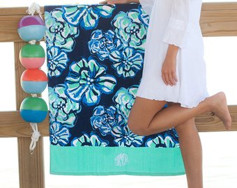 Maliblue Beach Towel