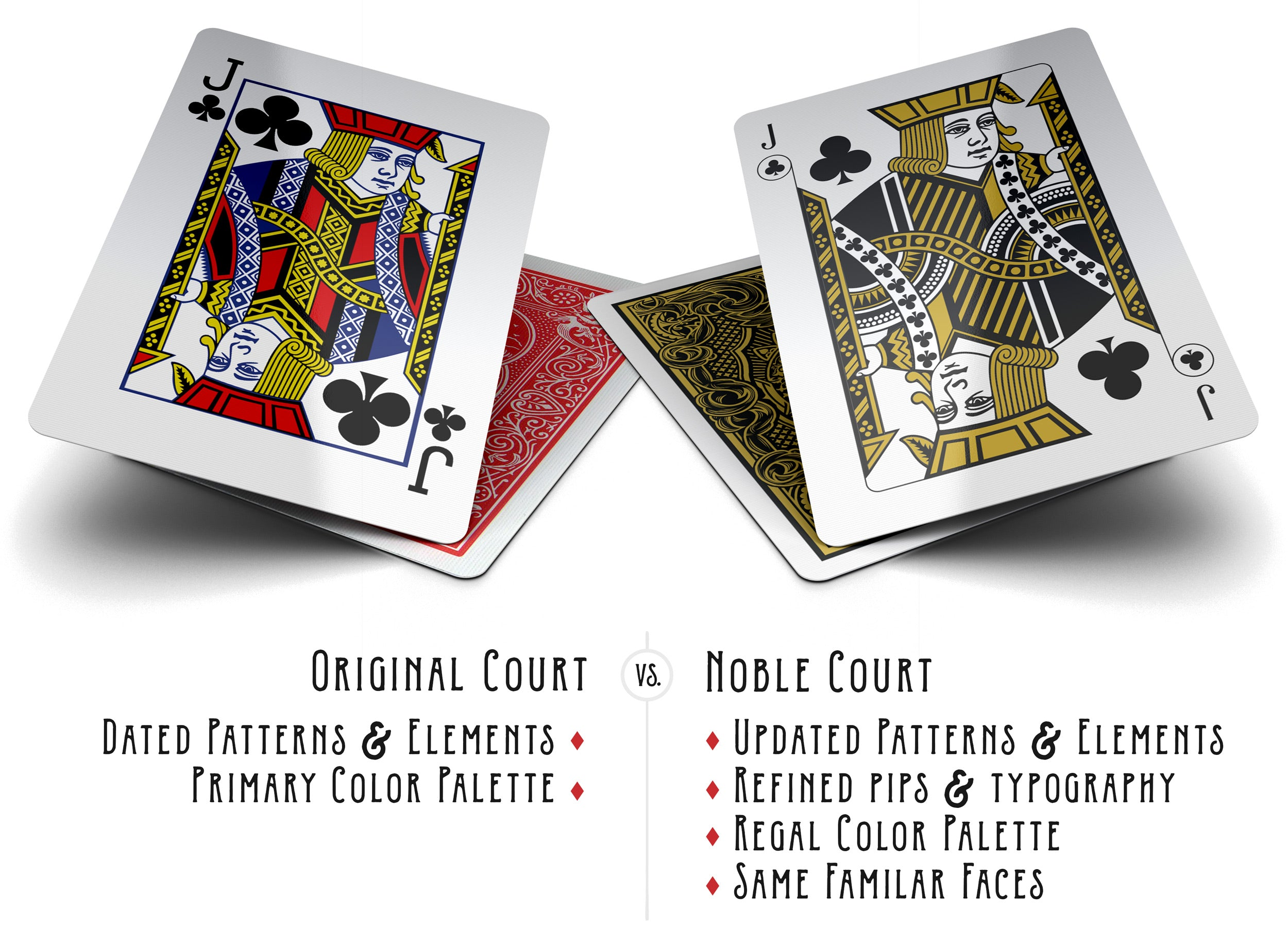 Noble deck premium playing cards by jason haynes for Comparison of composite decking brands