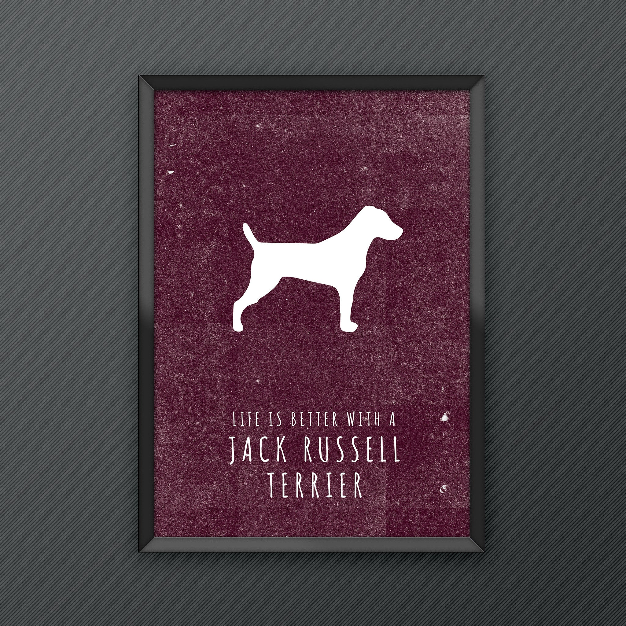 Jack Russell Terrier Dog Print