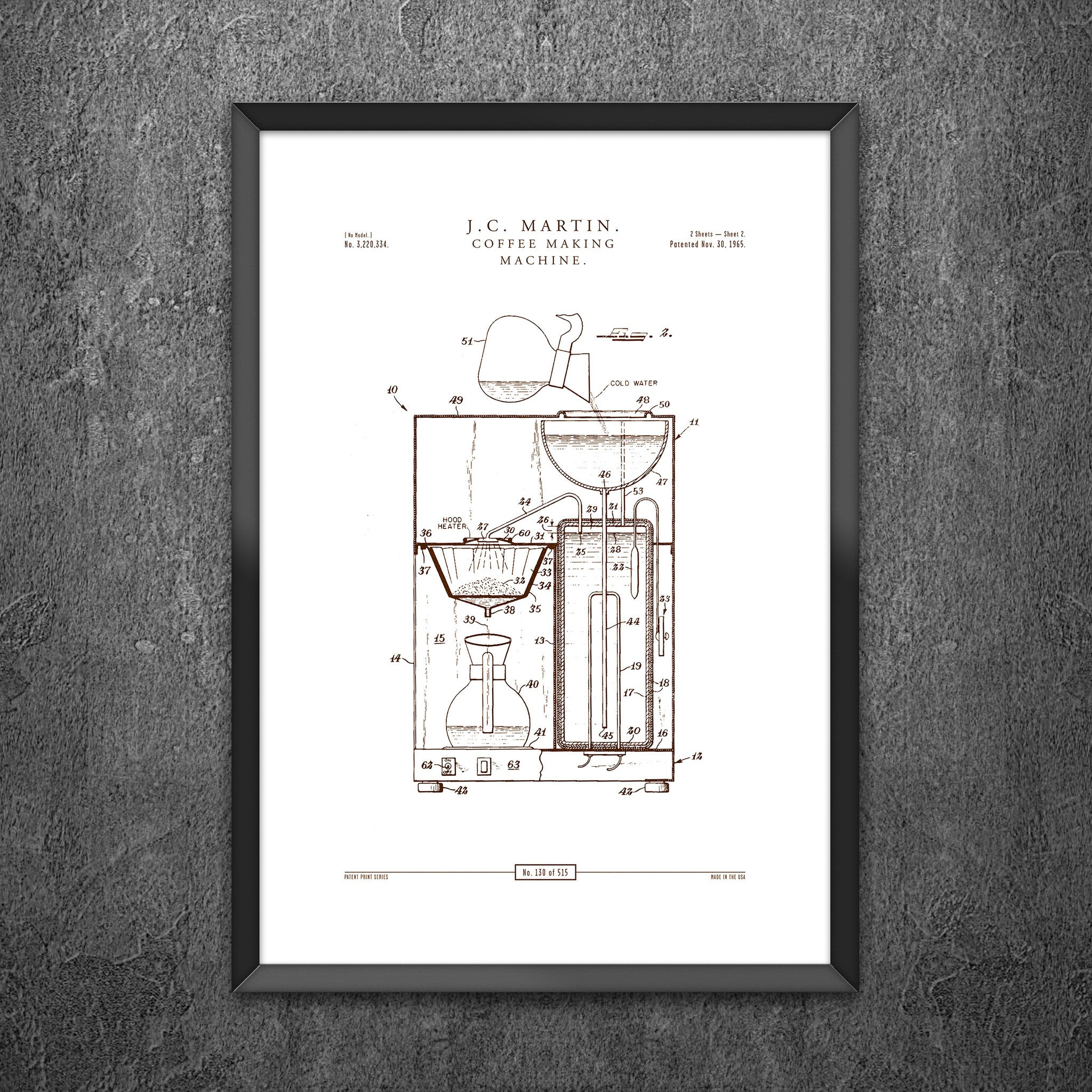 No 130 - Coffee Making Machine