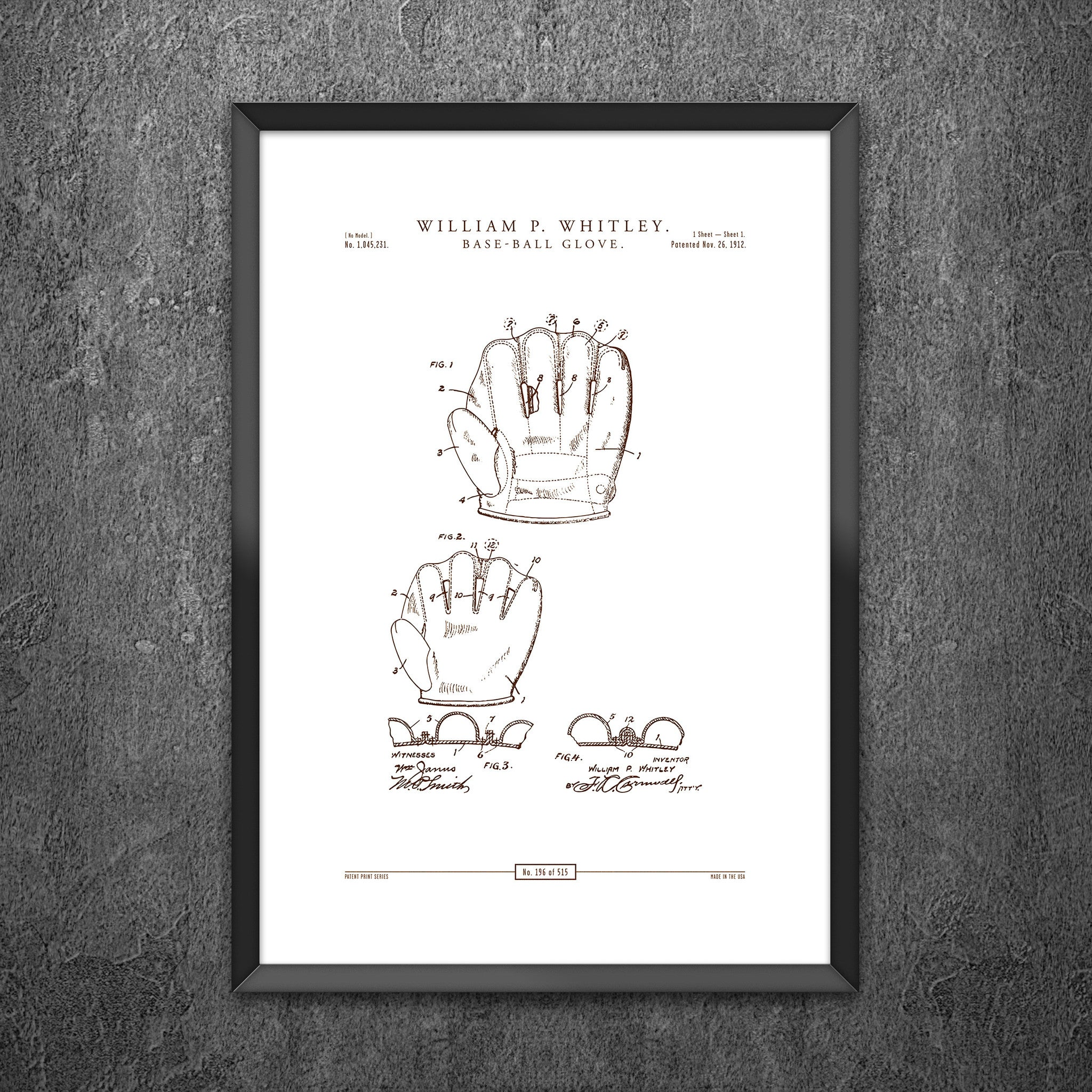 No 196 - Baseball Glove