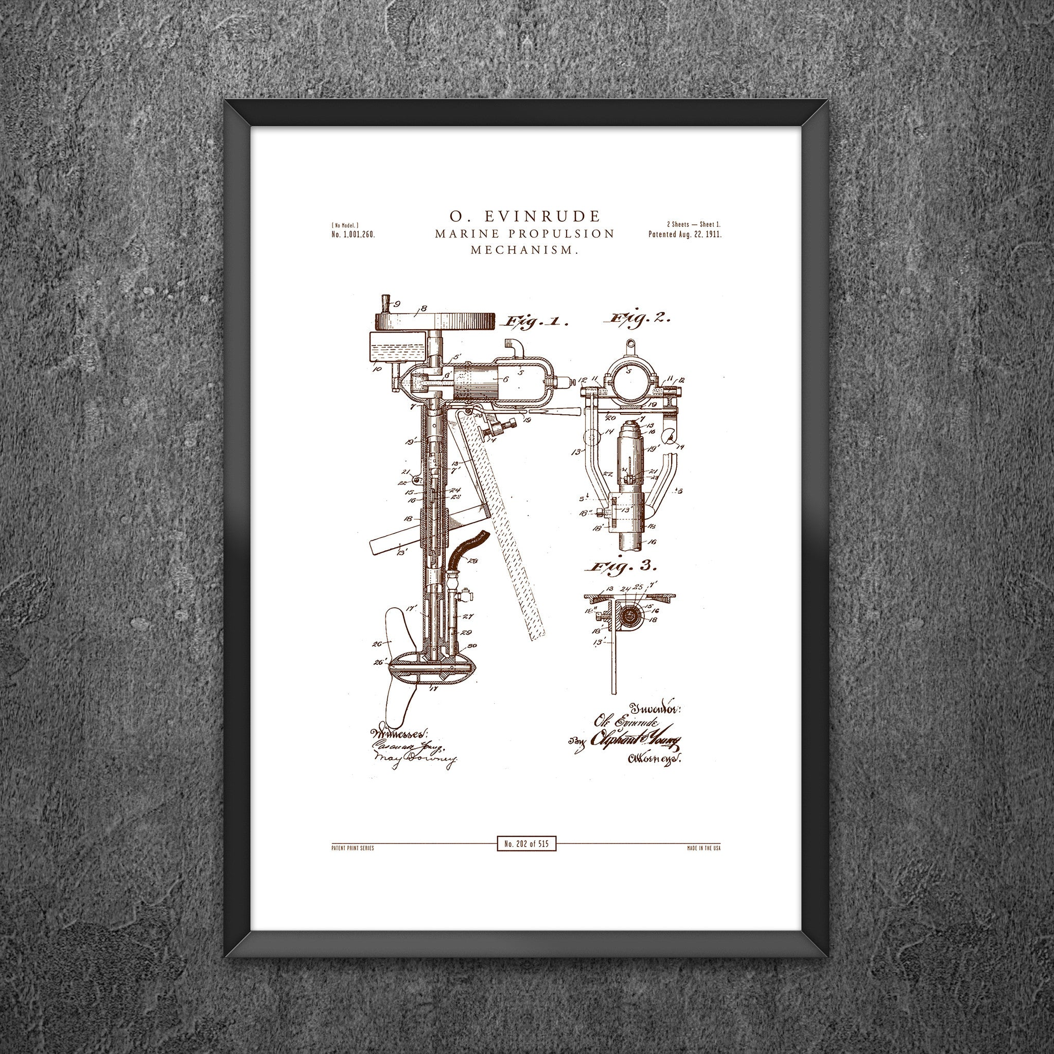 No 202 - Marine Propulsion Mechanism