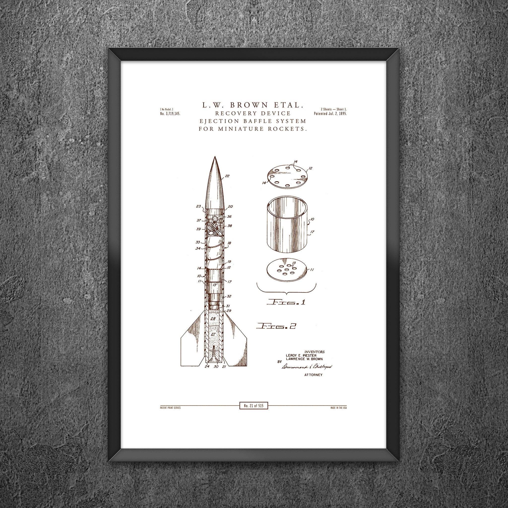 No 21 - Miniature Rocket