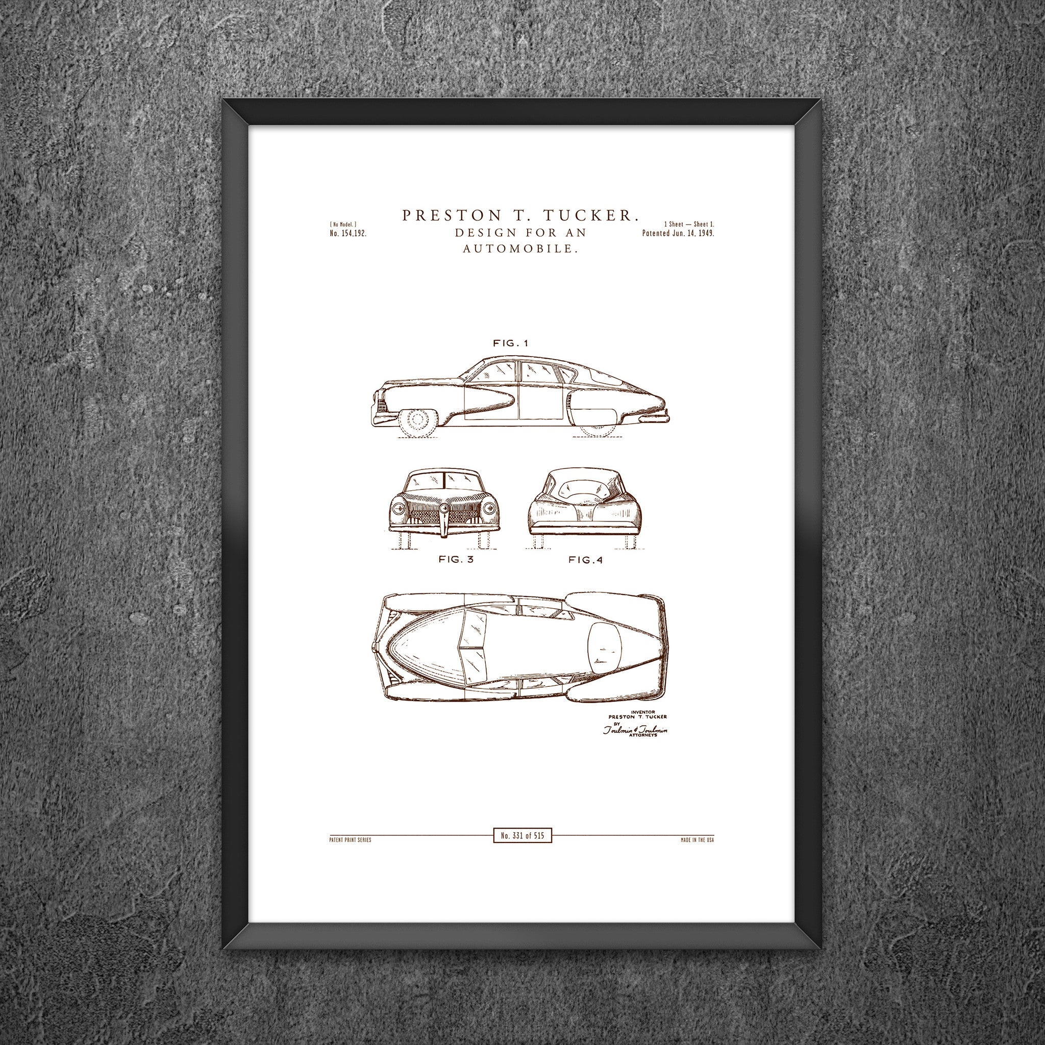 No 331 - Design for an Automobile
