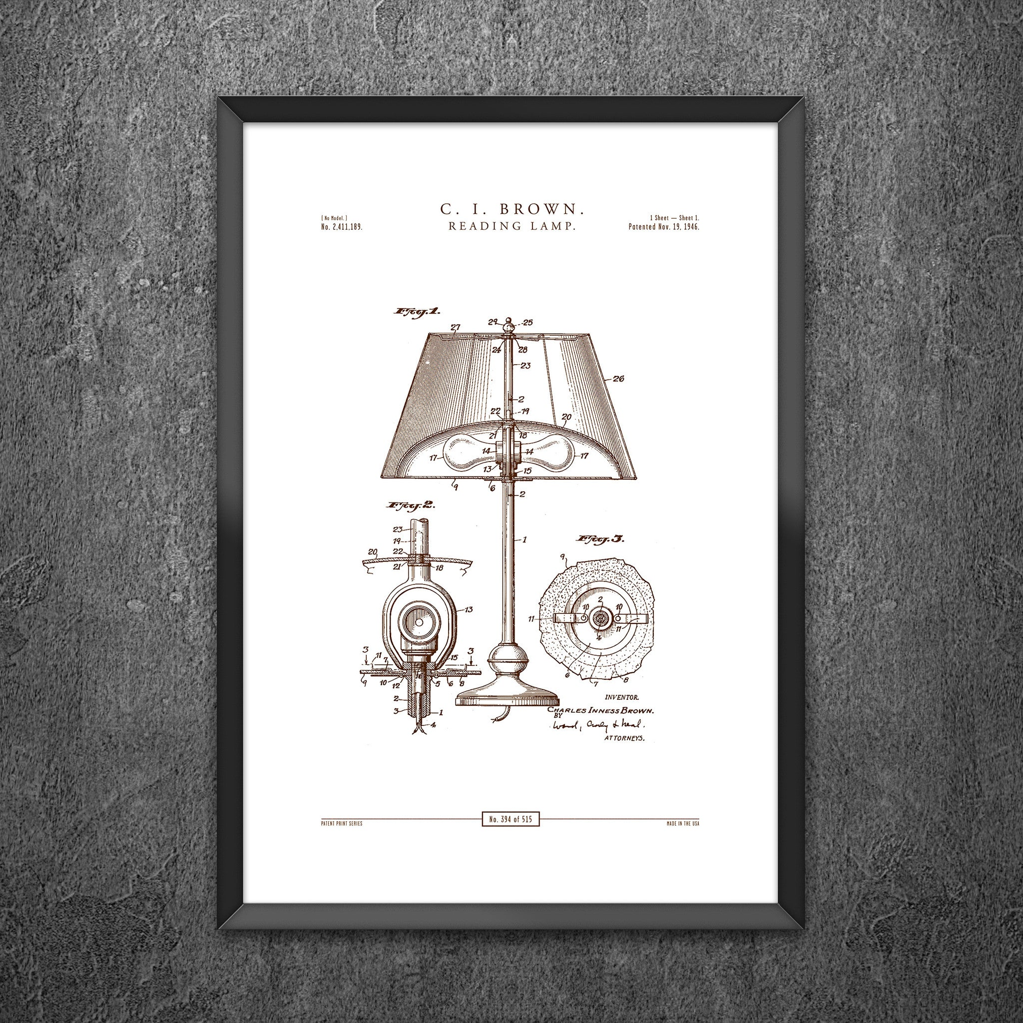 No 394 - Reading Lamp