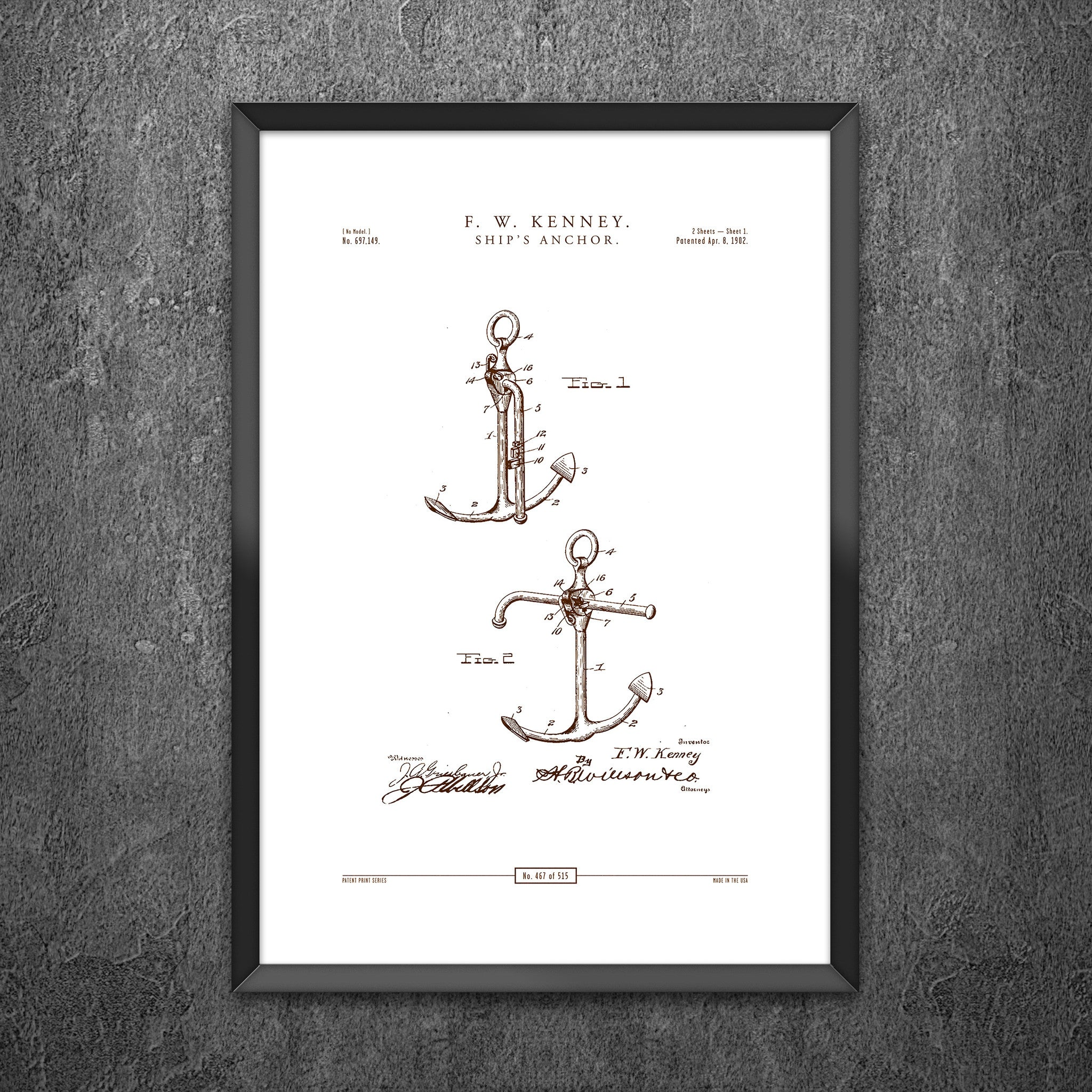 No 467 - Ships Anchor