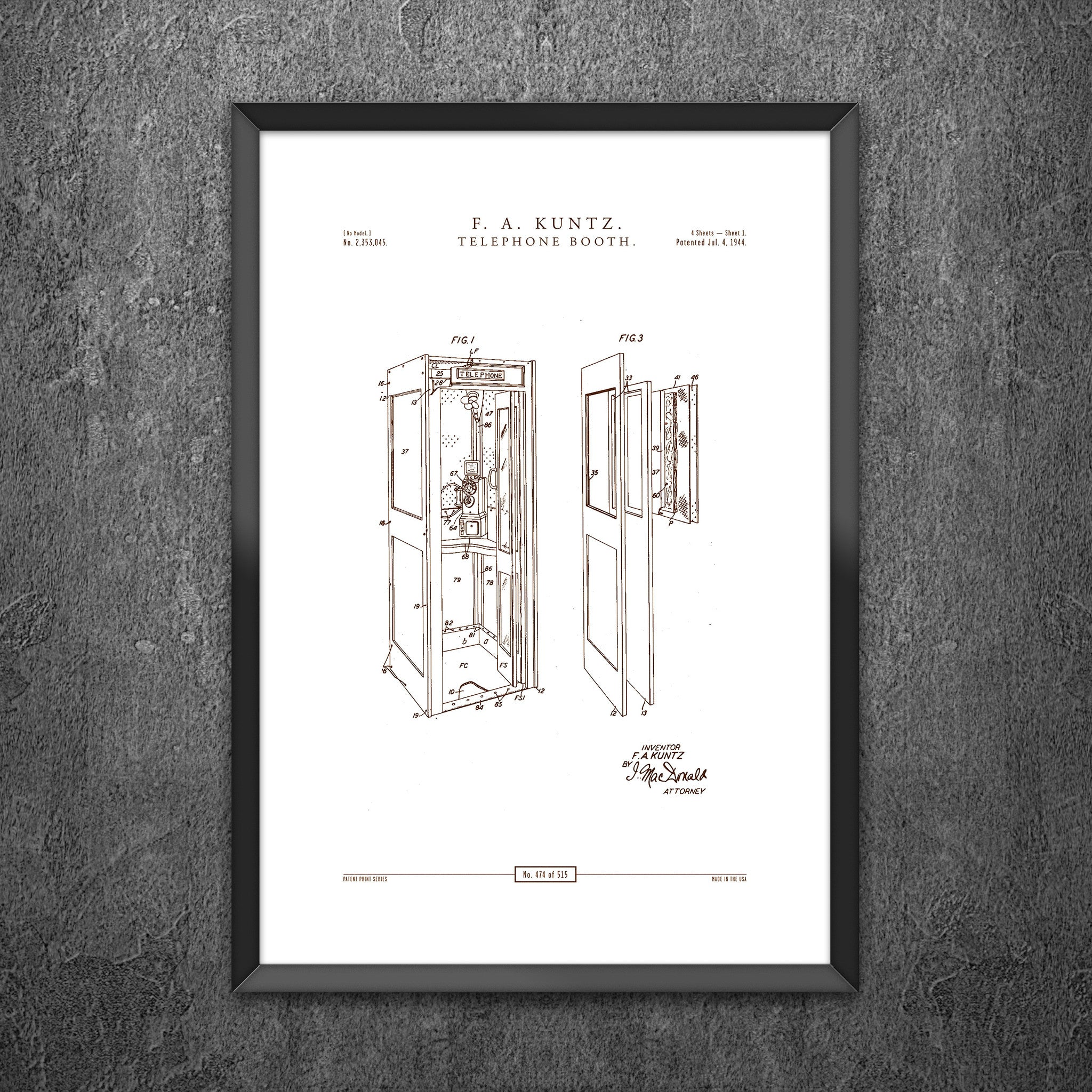No 474 - Telephone Booth
