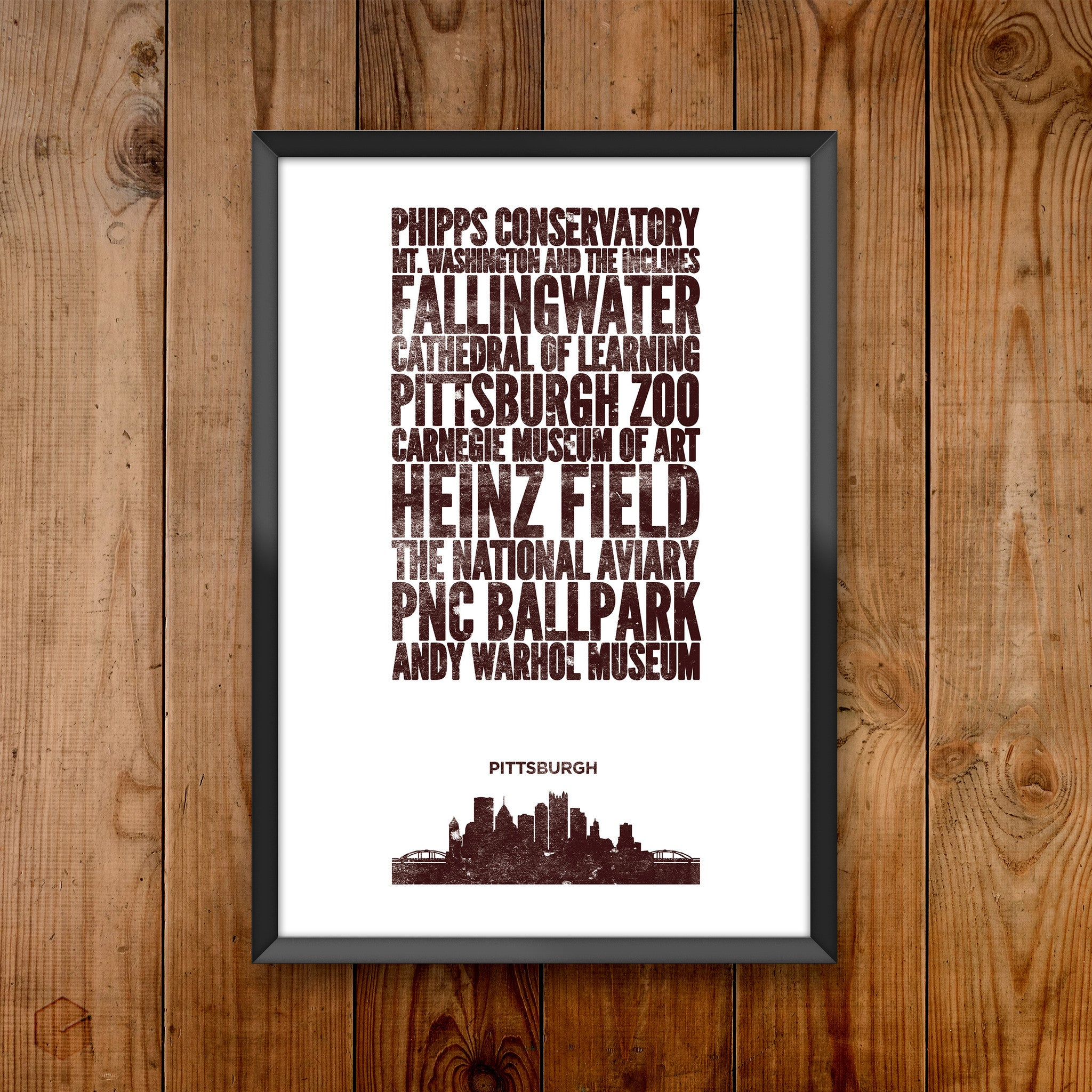 Pittsburgh City Print