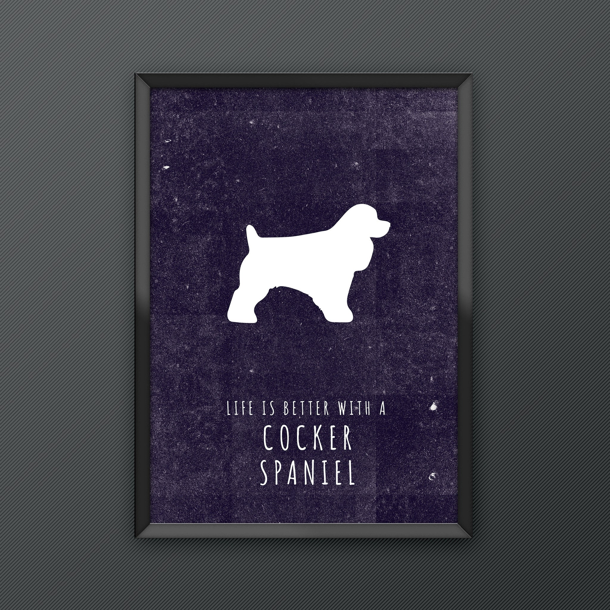 Cocker Spaniel Dog Print