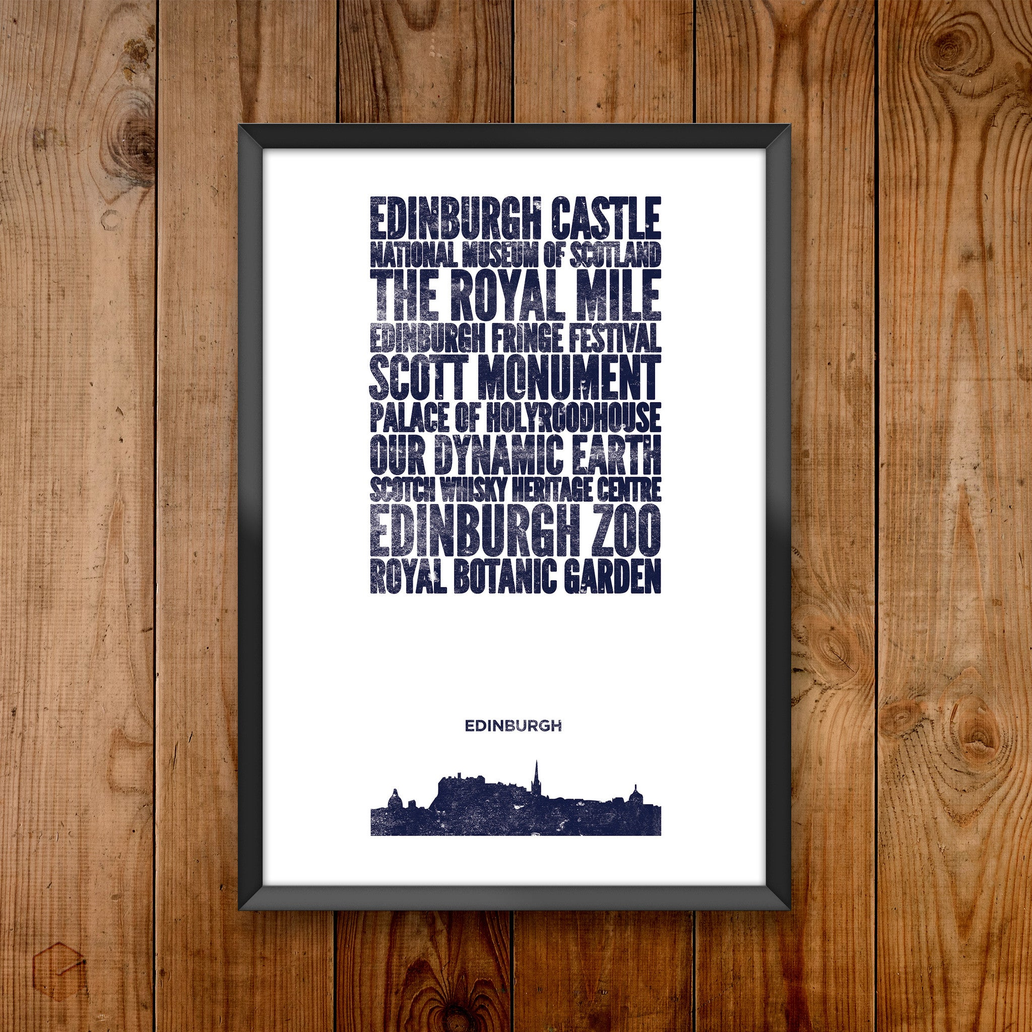 Edinburgh City Print