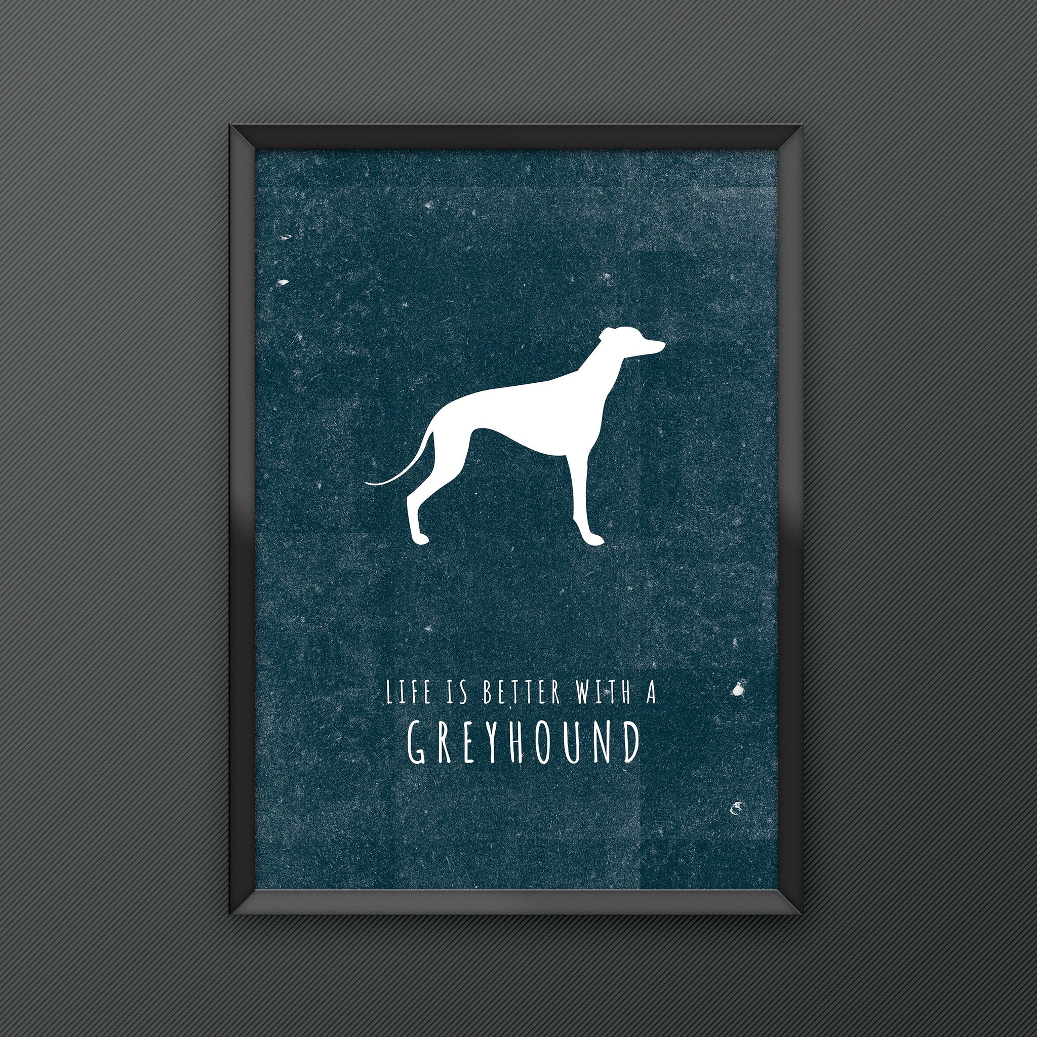 Greyhound Dog Print