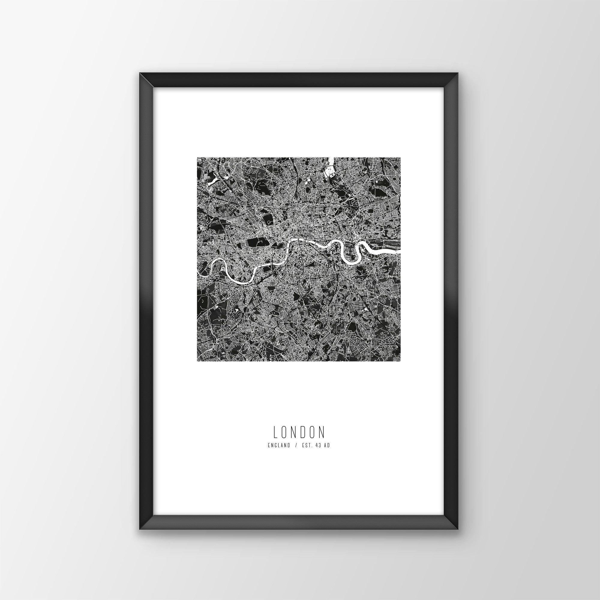 London City Map Print