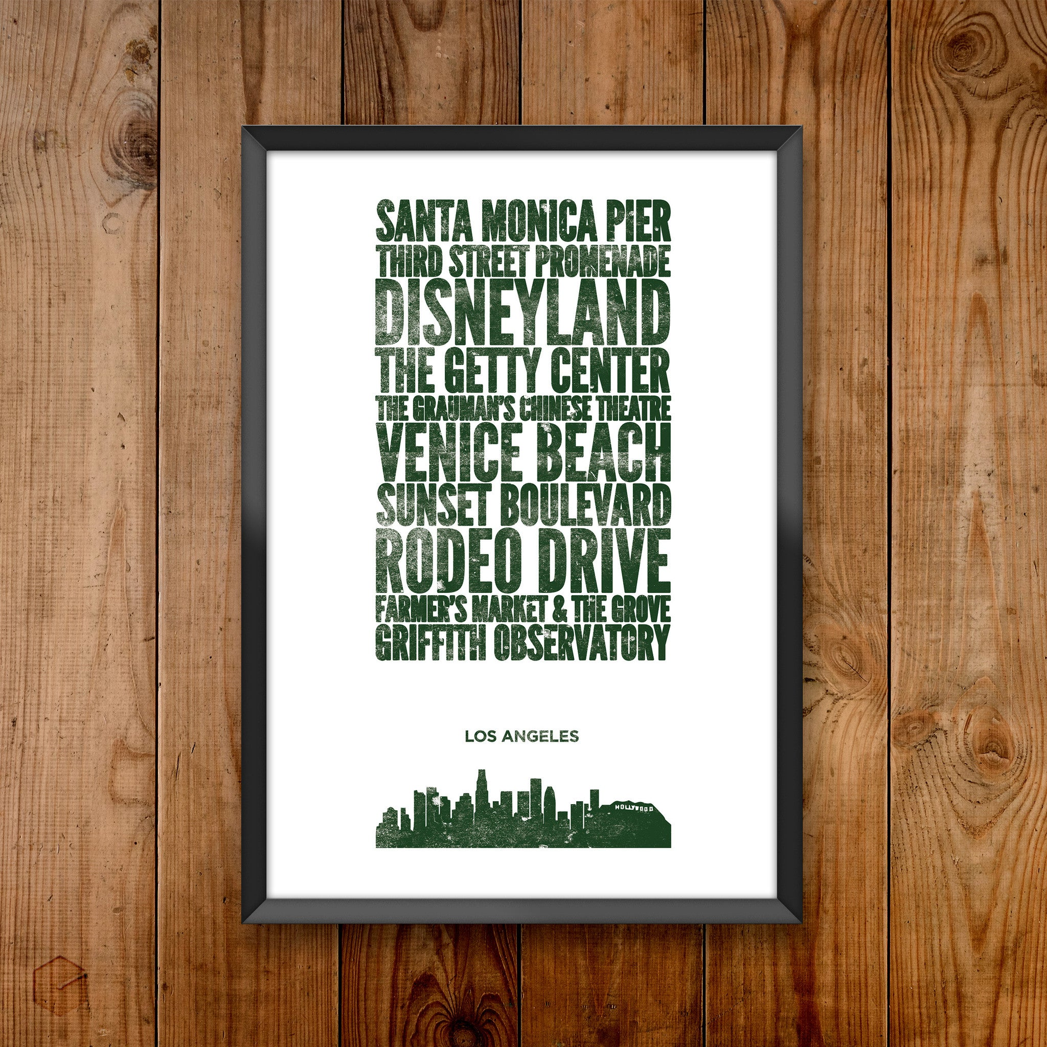 Los Angeles City Print