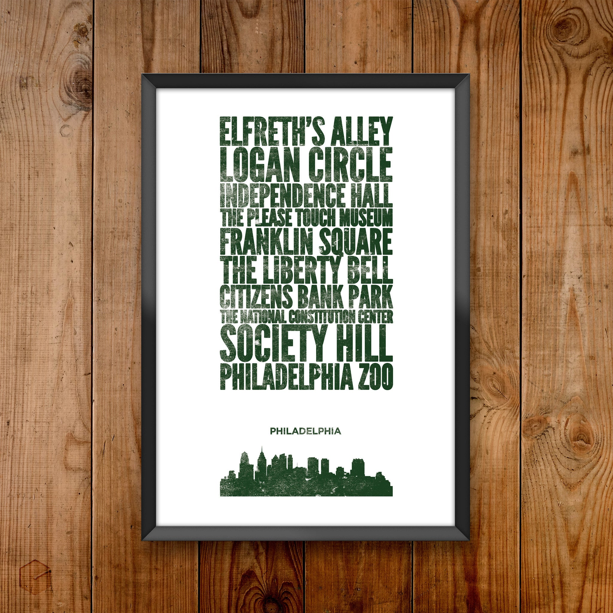 Philadelphia City Print