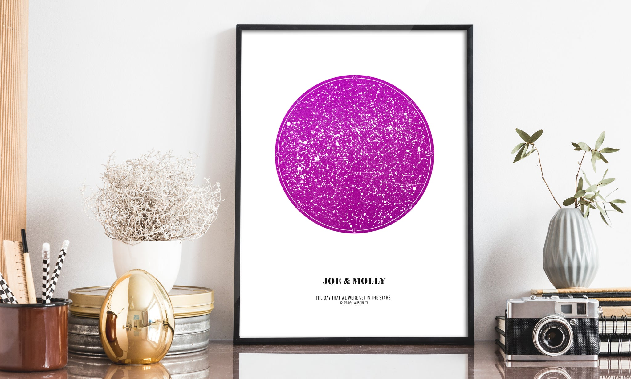 Personalized Star Map - Official Custom Star Print