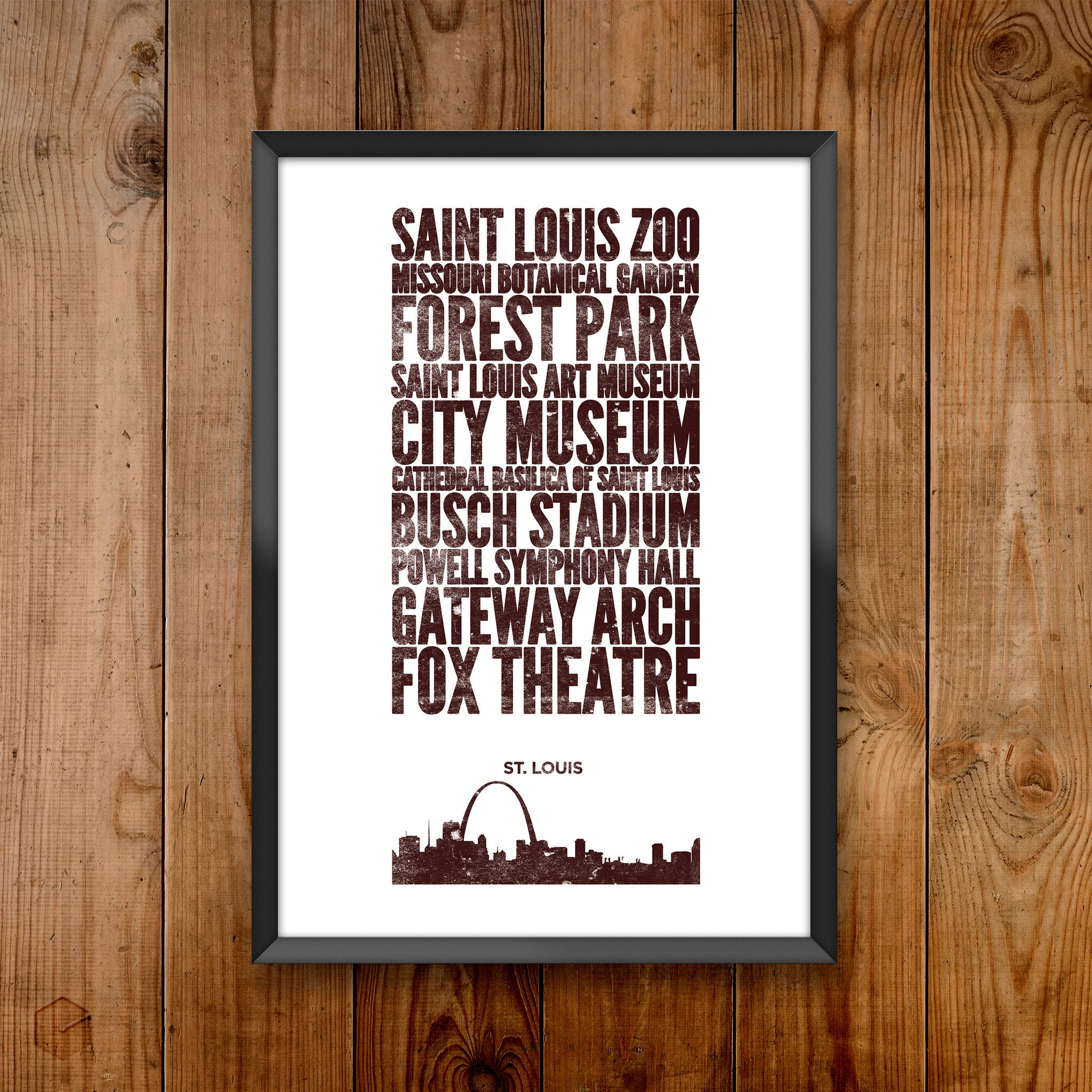 St Louis City Print