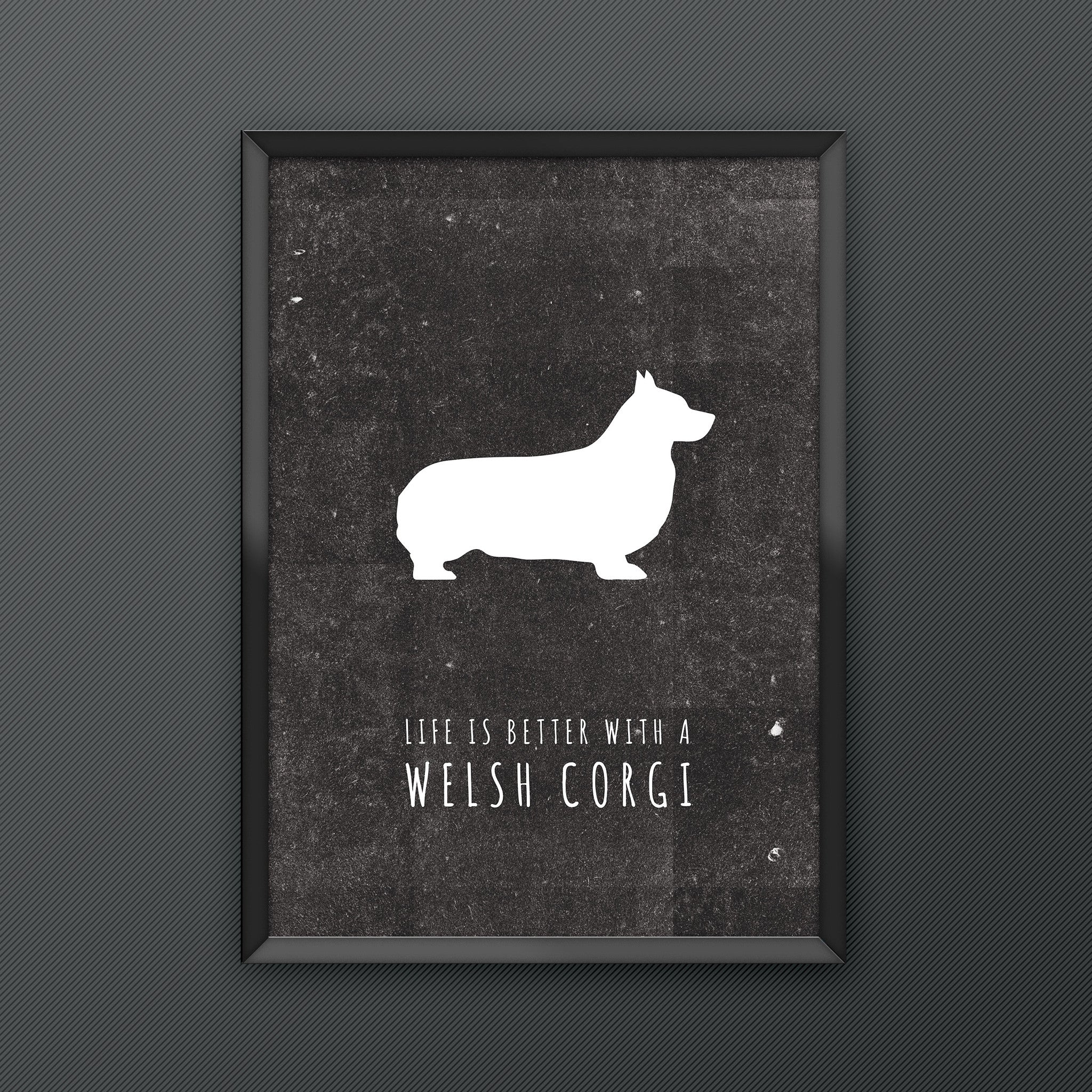 Welsh Corgi Dog Print