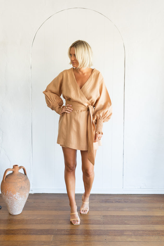 DEE DRESS - SALTED CARAMEL
