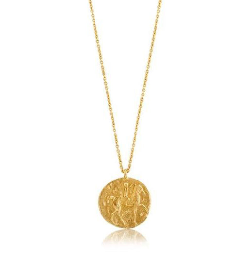 ROMAN RIDER COIN NECKLACE