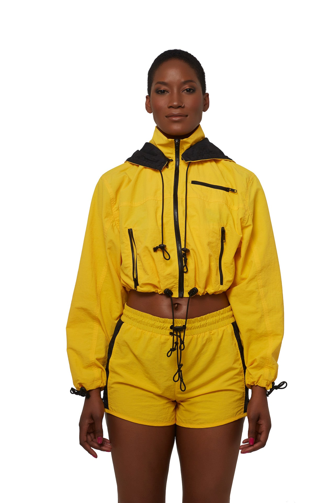 Caution This Yellow Flyzip Shorts
