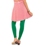 Go Colors Leggings Emerald Green