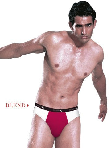 VIP Frenchie X Blend Briefs Pack 1 Outer Elastic , Briefs - VIP Frenchie X, Trendy Inners