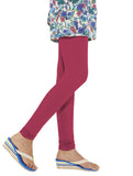 Go Colors Full Leggings Dark Pink , Leggings - Go Colors, Trendy Inners