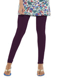 Go Colors Full Leggings Dark Purple , Leggings - Go Colors, Trendy Inners
