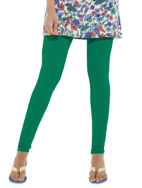 Go Colors Full Leggings Golf Green , Leggings - Go Colors, Trendy Inners