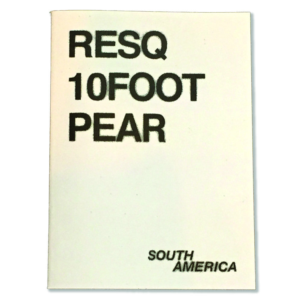 RESQ 10FOOT PEAR (South America)