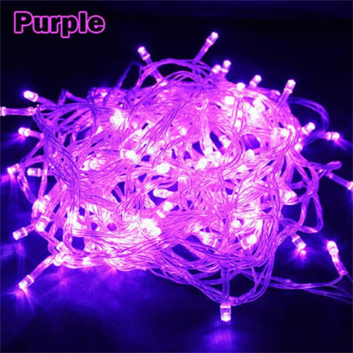 1M LED String Fairy Lights, Waterproof Decorative Light for Indoor & Outdoor. Purple Color. - BusDeals Today