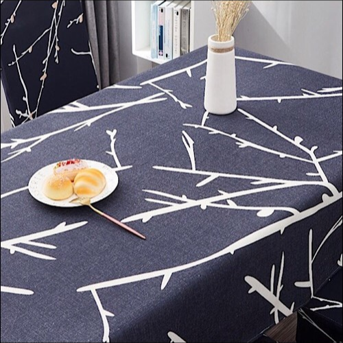 Waterproof table linen, twigs design. - BusDeals Today