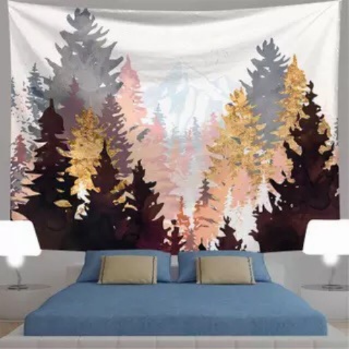 Wall Tapestry Home Decor, Tree Design. - BusDeals Today