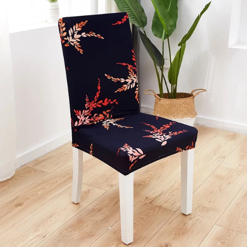 Chair cover, Red Leaves. - BusDeals Today