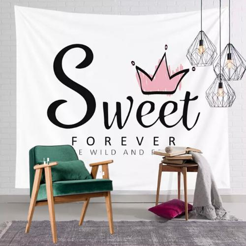 Wall Tapestry Home Decor,  Sweet Forever Print. - BusDeals Today