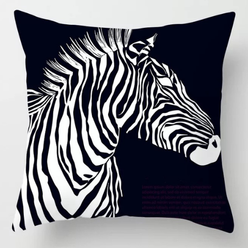 1 Piece  Zebra Design, Decorative Cushion Cover. - BusDeals Today