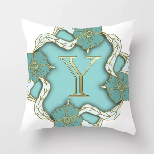 1 Piece Letter Y Graphic Design, Decorative Cushion Cover. - BusDeals Today