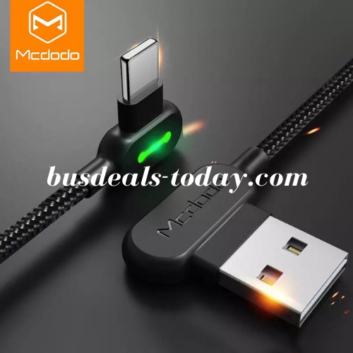 1.2m USB Cable LED 2A Fast Charging, Mobile Phone Charger, Data Cable for iPhone . - BusDeals Today