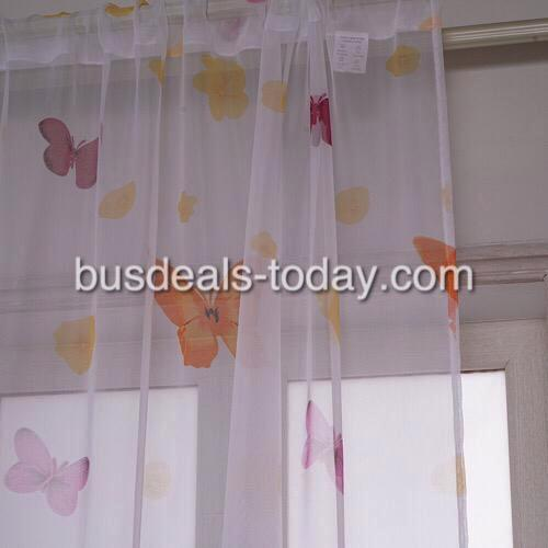 Butterfly sheer, set of 2 pieces. - BusDeals Today