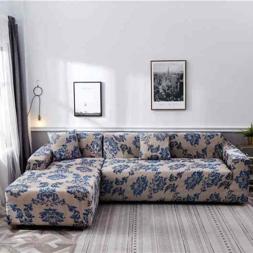 Sofa cover, bohemia design- L shape 2 pieces. - BusDeals Today