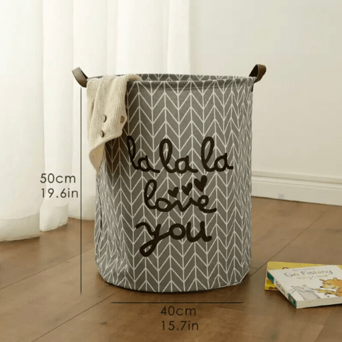 Laundry basket, love you design. - BusDeals Today