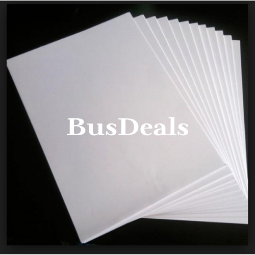 A5 500 Sheets, 80gsm2 White Printing Paper. - BusDeals Today
