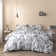 King size marble design, Bedding set of 6 pieces.