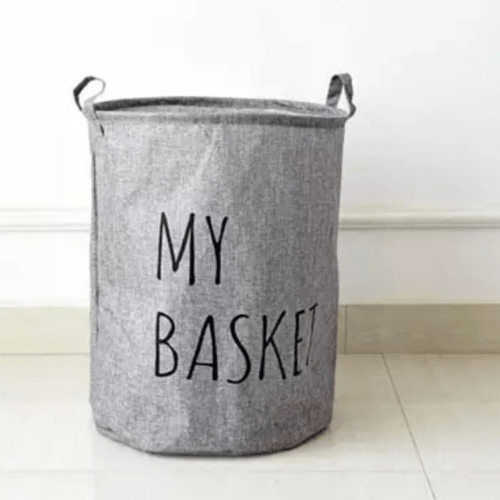 Laundry basket, My Basket Grey Color . - BusDeals Today