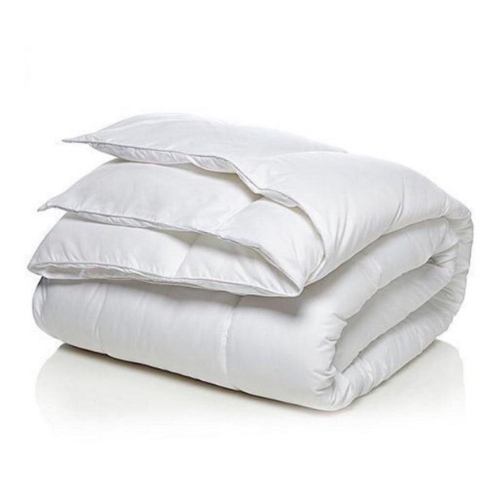 Soft duvet and extremely comfortable queen size.